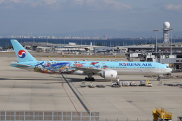 SKYLINEさんが、関西国際空港で撮影した大韓航空 777-3B5/ERの航空フォト(飛行機 写真・画像)