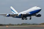 にっしーさんが、高松空港で撮影したラスベガス サンズ 747SP-31の航空フォト(写真)