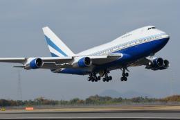 にっしーさんが、高松空港で撮影したラスベガス サンズ 747SP-31の航空フォト(飛行機 写真・画像)