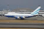 神宮寺ももさんが、高松空港で撮影したラスベガス サンズ 747SP-31の航空フォト(写真)