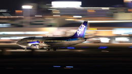 ふじいあきらさんが、伊丹空港で撮影したANAウイングス 737-54Kの航空フォト(写真)