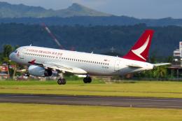 Gujirinkaさんが、フランシスコ・バンゴイ国際空港で撮影したキャセイドラゴン A320-232の航空フォト(飛行機 写真・画像)