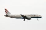 xingyeさんが、ロンドン・ガトウィック空港で撮影したクロアチア航空 A320-214の航空フォト(写真)