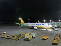 Jin Bergqiさんが、マクタン・セブ国際空港で撮影したセブパシフィック航空 A320-214の航空フォト(飛行機 写真・画像)