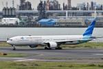 Dojalanaさんが、羽田空港で撮影したガルーダ・インドネシア航空 777-3U3/ERの航空フォト(飛行機 写真・画像)