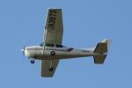 mogusaenさんが、調布飛行場で撮影した東京航空 172P Skyhawkの航空フォト(写真)