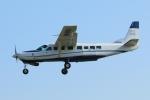 mogusaenさんが、調布飛行場で撮影した共立航空撮影 208B Grand Caravanの航空フォト(飛行機 写真・画像)