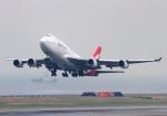 関西国際空港 - Kansai International Airport [KIX/RJBB]で撮影されたカンタス航空 - Qantas Airways [QF/QFA]の航空機写真