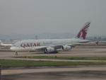 JA8037さんが、広州白雲国際空港で撮影したカタール航空 A380-861の航空フォト(写真)