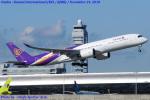 Chofu Spotter Ariaさんが、関西国際空港で撮影したタイ国際航空 A350-941XWBの航空フォト(飛行機 写真・画像)