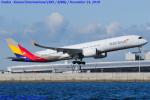 Chofu Spotter Ariaさんが、関西国際空港で撮影したアシアナ航空 A350-941の航空フォト(飛行機 写真・画像)