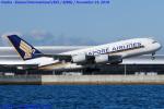 Chofu Spotter Ariaさんが、関西国際空港で撮影したシンガポール航空 A380-841の航空フォト(飛行機 写真・画像)