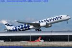 Chofu Spotter Ariaさんが、関西国際空港で撮影したフィンエアー A350-941XWBの航空フォト(飛行機 写真・画像)