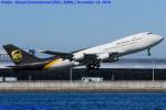 Chofu Spotter Ariaさんが、関西国際空港で撮影したUPS航空 747-428F/SCDの航空フォト(写真)