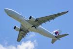 ちゃぽんさんが、成田国際空港で撮影したマレーシア航空 A330-223Fの航空フォト(写真)