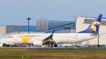 パンダさんが、成田国際空港で撮影したMIATモンゴル航空 737-8ASの航空フォト(写真)