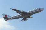 たーぼーさんが、羽田空港で撮影した航空自衛隊 747-47Cの航空フォト(写真)