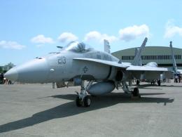 けろんさんが、茨城空港で撮影したアメリカ海兵隊 F/A-18A Hornetの航空フォト(飛行機 写真・画像)