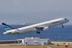 yabyanさんが、中部国際空港で撮影したエアプサン A321-231の航空フォト(飛行機 写真・画像)