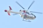 500さんが、自宅上空で撮影した朝日航洋 MD-900 Explorerの航空フォト(写真)