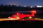 SAMBAR-2463さんが、埼玉県本庄市(場外)で撮影した埼玉県防災航空隊 AW139の航空フォト(写真)