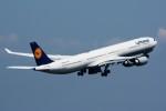 k-spotterさんが、羽田空港で撮影したルフトハンザドイツ航空 A340-642の航空フォト(写真)