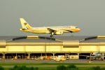 まいけるさんが、スワンナプーム国際空港で撮影したミャンマー国際航空 A320-231の航空フォト(写真)