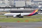Dojalanaさんが、羽田空港で撮影したアシアナ航空 A330-323Xの航空フォト(飛行機 写真・画像)