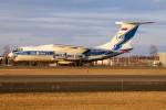 北の熊さんが、新千歳空港で撮影したヴォルガ・ドニエプル航空 Il-76TDの航空フォト(写真)