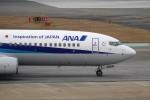 もぐ3さんが、福岡空港で撮影した全日空 737-881の航空フォト(写真)