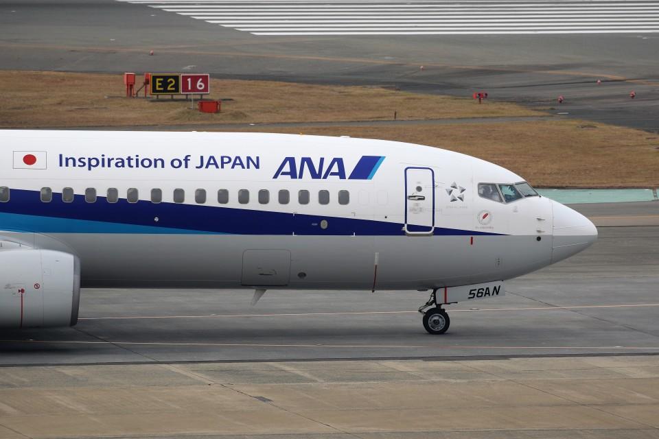 もぐ3さんの全日空 Boeing 737-800 (JA56AN) 航空フォト