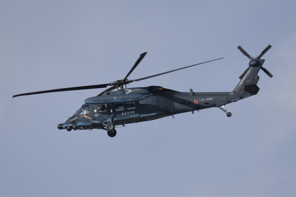 kumagorouさんの航空自衛隊 Mitsubishi UH-60J (78-4585) 航空フォト