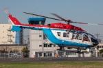 まんぼ しりうすさんが、東京ヘリポートで撮影した川崎市消防航空隊 BK117C-2の航空フォト(写真)