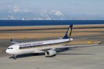 yabyanさんが、中部国際空港で撮影したシンガポール航空 A330-343Xの航空フォト(飛行機 写真・画像)
