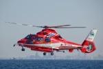Mizuki24さんが、横浜ヘリポートで撮影した千葉市消防航空隊 AS365N3 Dauphin 2の航空フォト(写真)