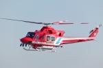 Mizuki24さんが、横浜ヘリポートで撮影した静岡市消防航空隊 412EPの航空フォト(写真)