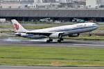 Dojalanaさんが、羽田空港で撮影した中国国際航空 A330-343Xの航空フォト(飛行機 写真・画像)