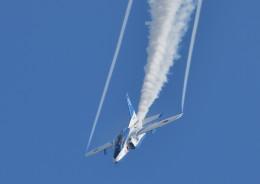 じーく。さんが、新田原基地で撮影した航空自衛隊 T-4の航空フォト(写真)