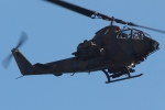木人さんが、峯岡山分屯基地で撮影した陸上自衛隊 AH-1Sの航空フォト(写真)