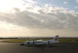 ケロさんが、沖永良部空港で撮影した日本エアコミューター ATR 72-600の航空フォト(飛行機 写真・画像)