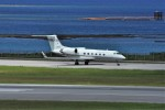 kumagorouさんが、那覇空港で撮影した国土交通省 航空局 G-IV Gulfstream IVの航空フォト(写真)