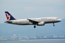k-spotterさんが、関西国際空港で撮影したマカオ航空 A320-232の航空フォト(飛行機 写真・画像)
