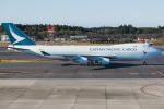 Tomo-Papaさんが、成田国際空港で撮影したキャセイパシフィック航空 747-467F/ER/SCDの航空フォト(写真)
