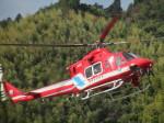 ランチパッドさんが、静岡ヘリポートで撮影した静岡市消防航空隊 412EPの航空フォト(写真)