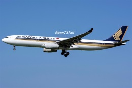 kan787allさんが、福岡空港で撮影したシンガポール航空 A330-343Xの航空フォト(飛行機 写真・画像)
