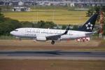 やまけんさんが、仙台空港で撮影したユナイテッド航空 737-724の航空フォト(写真)