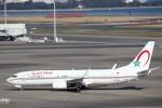 ハム太郎。さんが、羽田空港で撮影したモロッコ政府 737-8KB BBJ2の航空フォト(写真)