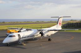 安芸あすかさんが、沖永良部空港で撮影した日本エアコミューター DHC-8-402Q Dash 8の航空フォト(飛行機 写真・画像)