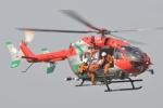 みいさんさんが、笠岡ふれあい空港で撮影した岡山市消防航空隊 BK117C-2の航空フォト(写真)