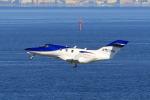 たまさんが、羽田空港で撮影したホンダ・エアクラフト・カンパニー HA-420の航空フォト(写真)